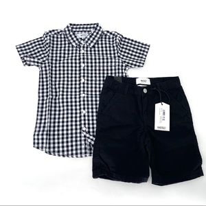 Wesc Boys Shirt and Shorts 2-Piece Outfit Set - 6